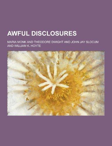 Awful Disclosures