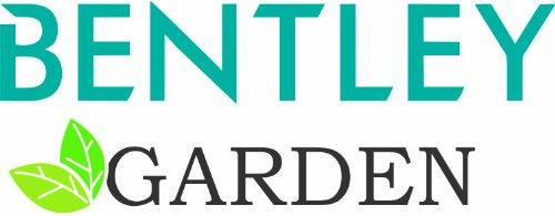 BENTLEY GARDEN SOLID TEAK 5 PIECE GARDEN PATIO FURNITURE SET - ROUND TABLE & 4 FOLDABLE CHAIRS