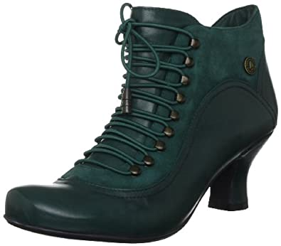 Amazon.com: Hush Puppies Vivianna Green Womens Ankle Boots, Size 5