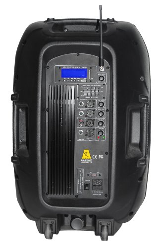 Kalo Kal215Abt 15-Inch 450W 2-Way Active Speaker Cabinet With Bluetooth