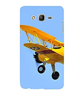 printtech Sky Airplane Propeller Back Case Cover for Samsung Galaxy On7