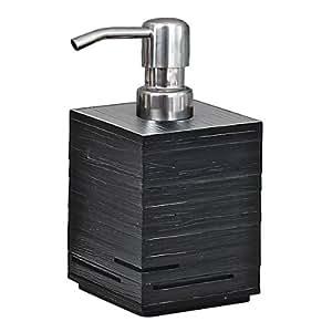 Nameeks QU81-14 Quadrotto Soap Dispenser, Black