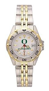 Buy Oregon Ducks Ladies All Star Watch Stainless Steel Bracelet by LogoArt