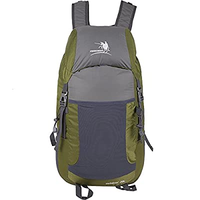 SUNHIKER M0710 Ultra Lightweight Packable Backpack Hiking Daypack + Most Durable Light Backpacks for Men and Women /Handy Foldable Camping Outdoor Backpack Daypack