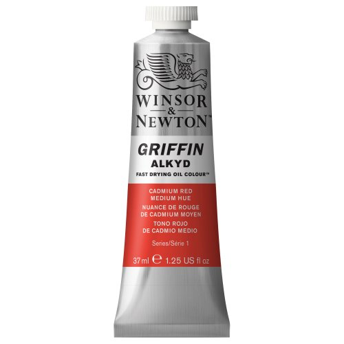 winsor-newton-griffin-37ml-alkyd-fast-drying-oil-colour-tube-cadmium-red-medium-hue