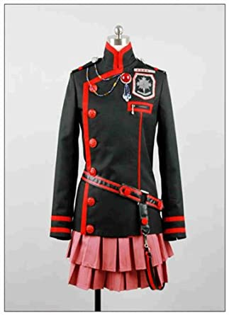 Dream-Coser Large Size D.Gray-man Lenalee Lee Cosplay CostumeWS995Large