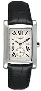 Longines Dolce Vita Stainless Steel Mens Strap Watch L5.655.4.71.2