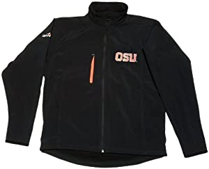 Granyte 6100 OSU - Oregon State Beavers Black Soft Shell Water Resistant Jacket -... by Granyte