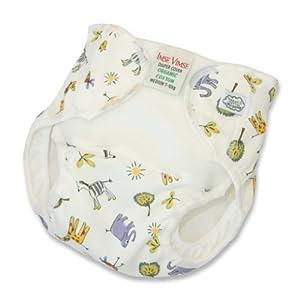 Imse Vimse Organic Cotton Diaper Cover - Newborn - Zoo