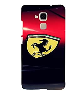 Perfect print back cover For Huawei Honor 5C