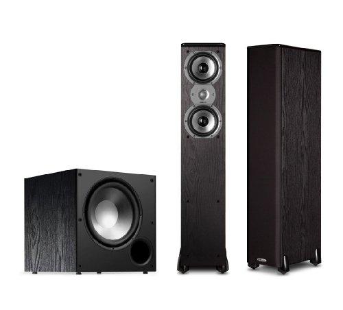 Polk Audio Tsi300 2.1 Home Theater Speaker Package (Black)