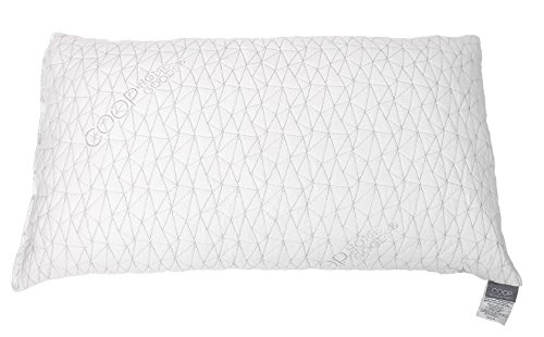 Best Price! Improved Design - Adjustable Shredded Memory Foam Pillow with Viscose Rayon Cover derive...