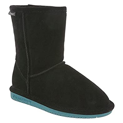 BearPaw Girls Emma Youth Boot Black/Peacock Size 1