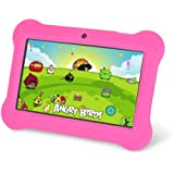 """Orbo Jr. 4GB Android 4.4 Wi-Fi Tablet PC w/Beautiful 7"""" Five-Point Multitouch Display - Special Kids Edition - Pink"""