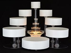 8 Tier Cascade Wedding Cake Stand - Lesbian Wedding Cake Stand