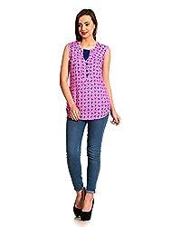 ahhaaaa Women's Top (Pink) (L)