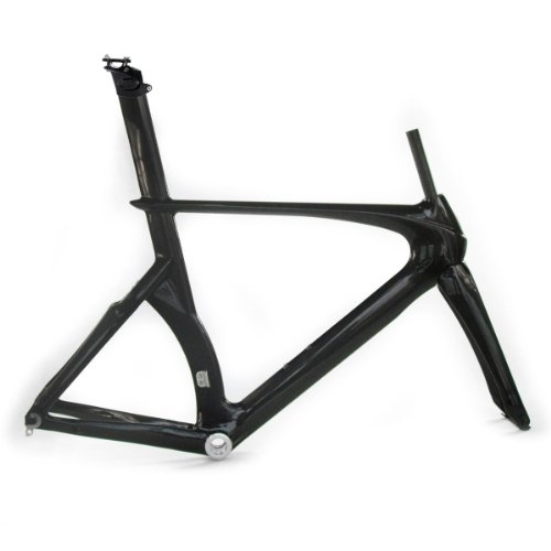 Carbon Fiber 3K Time Trial TT Triathlon Road Racing Bike Frame Fork Seatpost