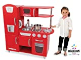 Kidkraft Red Retro Kitchen 53156 Activity Playset (Red)