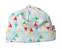 Zutano Baby Hat - Triangulum Design - For 6 Month Olds