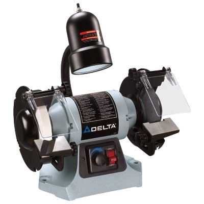 Bench Grinders Best Deal Delta Gr275 6 Inch Variable Speed Grinder With Tool Less Change