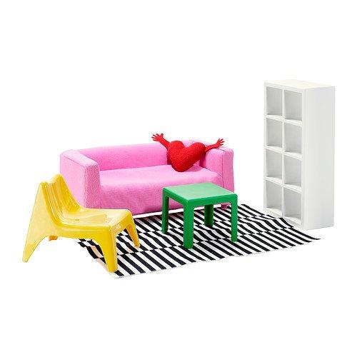 IKEA HUSET ミニチュア家具 リビングルーム  30235511