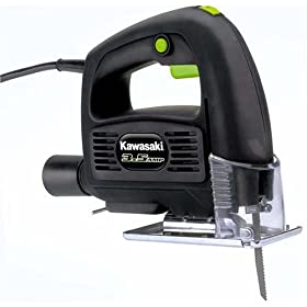 Kawasaki 840067 3.5-Amp Variable Speed Jig Saw, Black