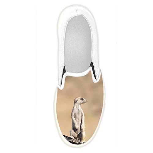 Dalliy costume Meerkats Slip-on scarpe di tela delle donne