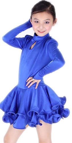 SFG27BU StarDance New Children Kid Girl Ballroom Smooth Latin Rhythm Dance Dress Costume