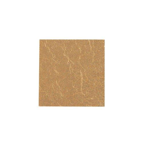 カラー純銀箔 #603 純金色 3.5㎜角×5枚