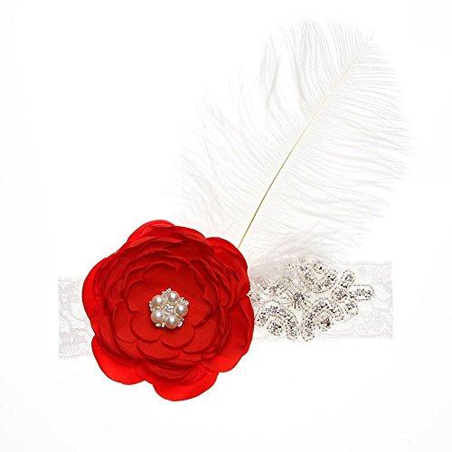 milazer-baby-girls-head-accessories-hair-band-party-flower-diamond-feather-headwear-red