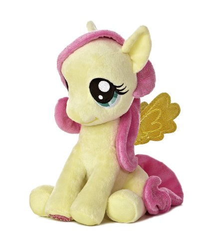 "Aurora World My Little Pony Seated Fluttershy Pony Plush, 10"" - 1"