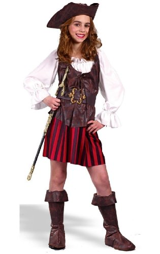 Girl High Seas Buccaneer Costume - Child Costume