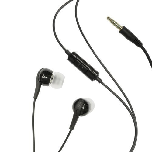 Samsung EHS60ANNBE 3.5 mm Premium Stereo Headset Bulk Packaging – Black