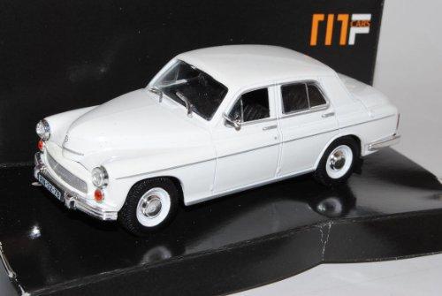 WaRSzawa 203 Limousine Weiss Beige 1/43 Nash Avtoprom Modell Auto