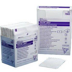 "Telfa Amd Antimicrobial Non-Adherent Pad, 3"" X 4"", Latex-Free [Tray Of 50] front-788546"