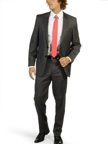 Lan.F.lli Cerruti Suit (UK: 40 tall / EU: 98, anthracite)