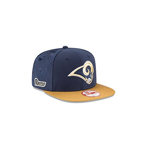 New Era NFL Los Angeles Rams 9Fifty Sideline Snapback Cap M-L
