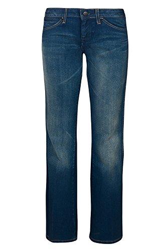 Wrangler Charlie Bootcut Jeans da donna blu W215-LY-059, Size:W26/L32