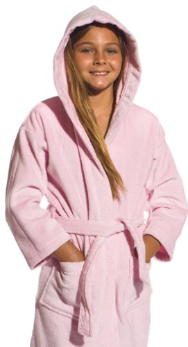 26aaa2065b Hooded Pink Kids bathrobes