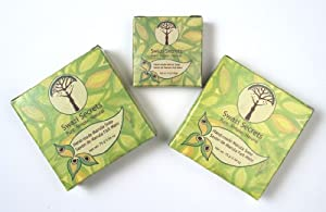 3 Bars of Marula Oil Soaps Two 2.64 oz (75 g) & One 0.88 oz (25 g)