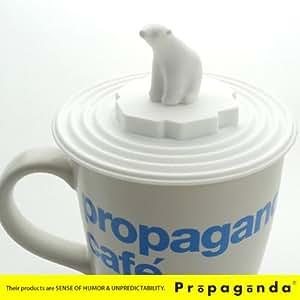 Propaganda Polar Bear Mug Lid [マグカバー]