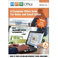WPS Office 10 Business Edition - 3 PCs / Lifetime + Nuance Dragon Accounting Software