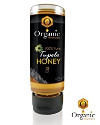 Organic Mountains 100% Pure Honey - Tupelo - 12 oz.