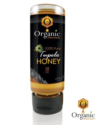 Organic Mountains 100% Pure Honey - Tupelo - 12 oz.