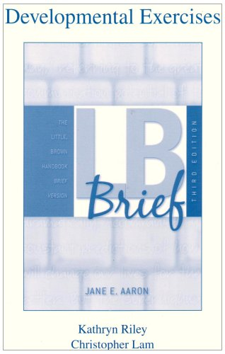 Developmental Exercises for LB Brief
