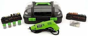 Kawasaki 840168 Green 150-Piece Rotary Tool and Accessory Kit