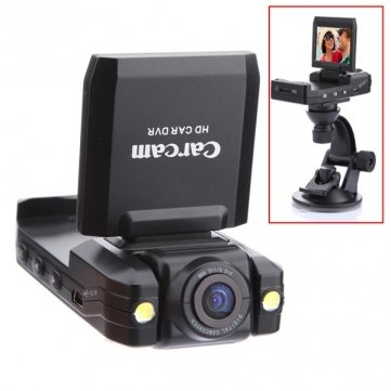 HD 1280 Driving Recorder Night Vision Portable Car Camera DVR
