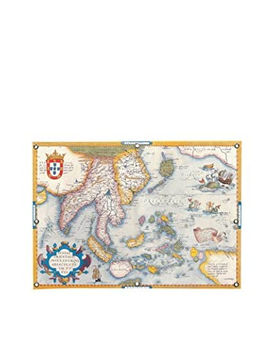 Antique-Inspired Map East Asia Canvas Print