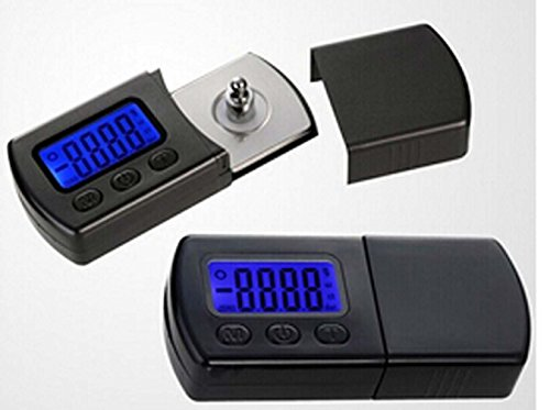 Yosoo Professional NEW Version LP Digital Turntable Stylus Force Scale Gauge led dzr For MM/MC/MI and piezoelectric acoustical pickup (Turntable Gauge compare prices)