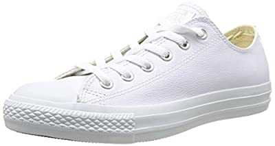 Converse Chuck Taylor All Star Adulte Mono Leather Ox 15460 Unisex - Erwachsene Sneaker